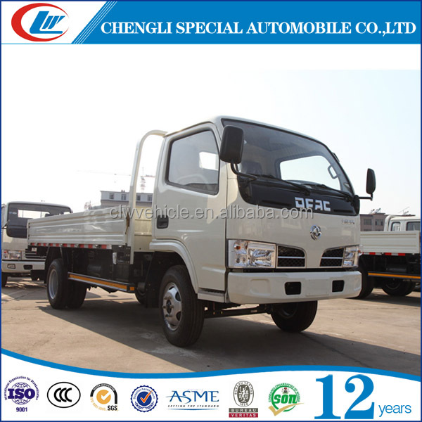 Loading capacity 3t 6 wheels cargo truck cargo van for sale