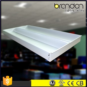 Hot 2x4 Motion Sensor Lay In Recessed Office Fixture Led Ceiling Panel Light