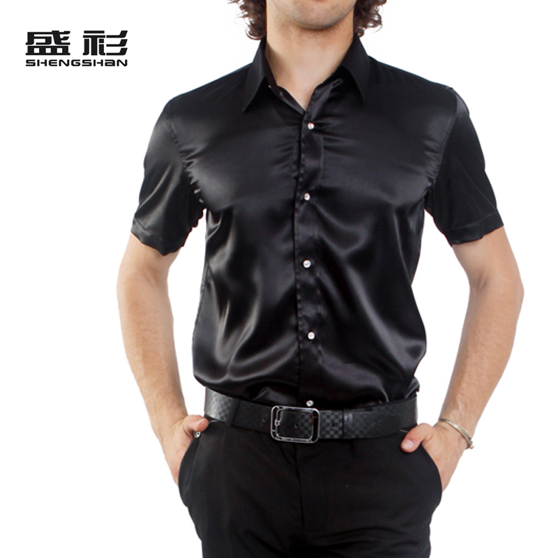 Shiny satin Dress Shirts: Shop for Mens Shiny Silk Dress Shirts, Slim Fitted, Designer Barrel Cuff Shirts, Big and Tall Shirts etc at cheap price in Pink, Red,Burgundy & in a range of colors from bestsfilete.cf SKU#LG_SG08 Fashion Cheap Sale Men's New Black Satin Dress Shirt Tie Combo Shirts $ SKU#LG_SG08 Fashion Cheap Sale Men's New.
