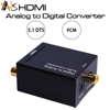 Digital Optical Coaxial Toslink To Analog Rca L/r Audio Converter W/ Ac Adapter