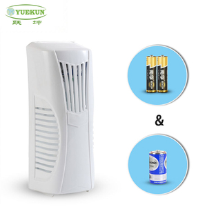 Eco-friendly toilet automatic spray aerosol dispenser/ electric fan air freshener dispenser