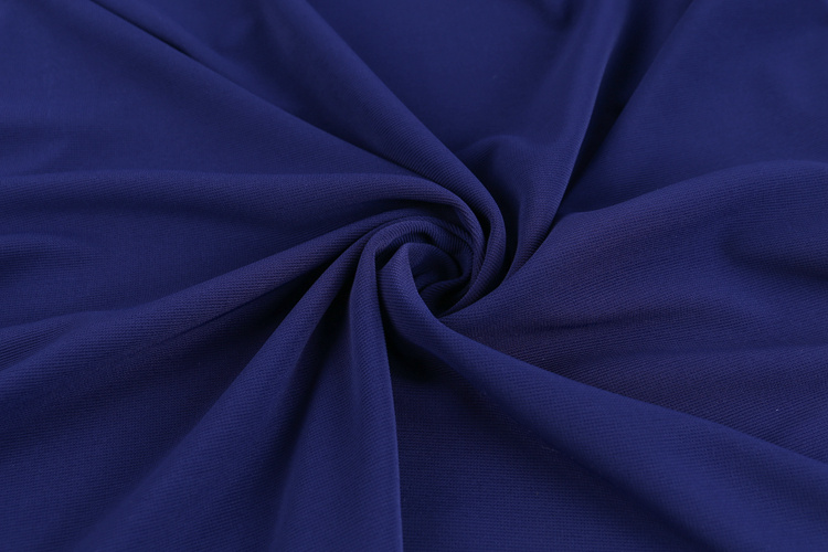 Spandex ottoman polyester pleated jersey fabric for sports jerseys