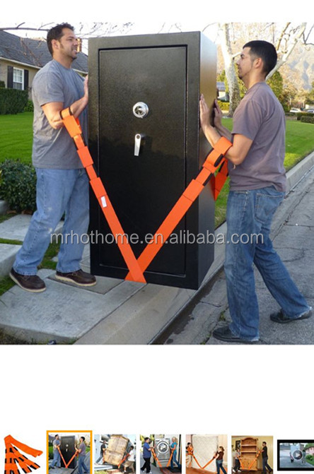 Carry furnishings easier/ Moving forearm forklift straps