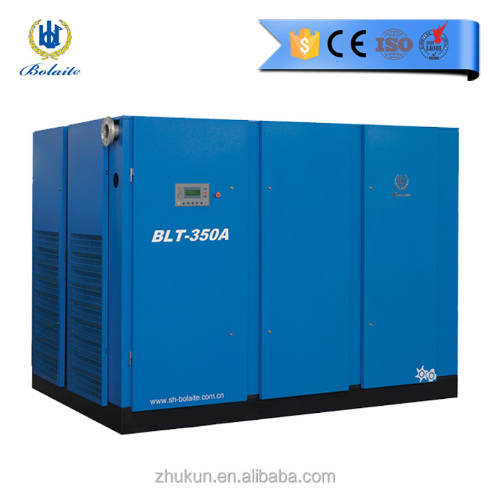 Grote Atlas copco 250kw 1500cfm Bolaite super roterende schroef luchtcompressor