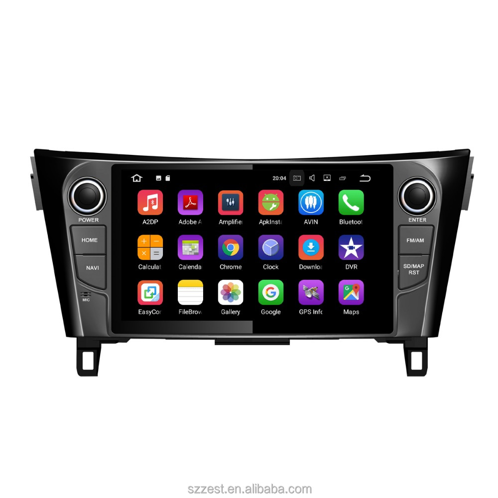 "HD touch screen android auto radio gps car dvd 2din for Nissan X-Trail 9""inch with 3g wifi navigation"