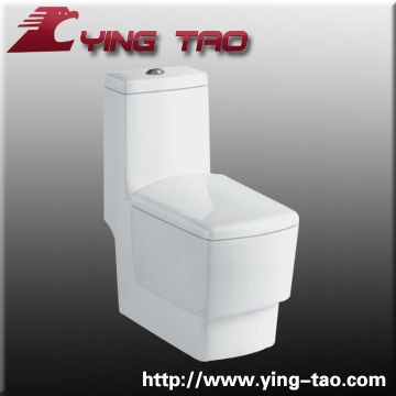 floor mounted bathroom high toilet ceramic one piece sanitary ware water closets china luxury accessories slow close toilets