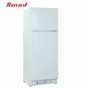 CE UL 213L Double Door LPG Gas and Kerosene Refrigerator Fridge