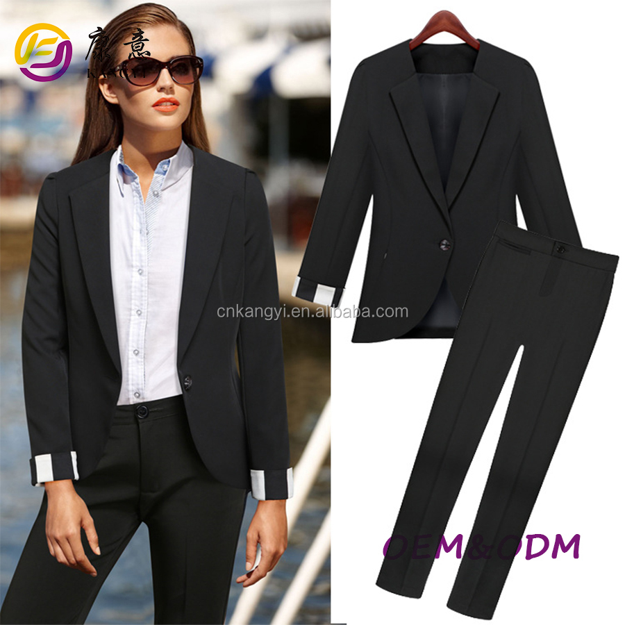 Fall Winter Slim Fit Suits,Ladies Wholesale Suits In Turkey For ...
