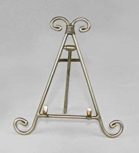 Easels, Decorative Easels from Easels by Amron, 7 Inches High (Pewter)