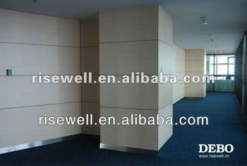 Decorative covering wall paneling