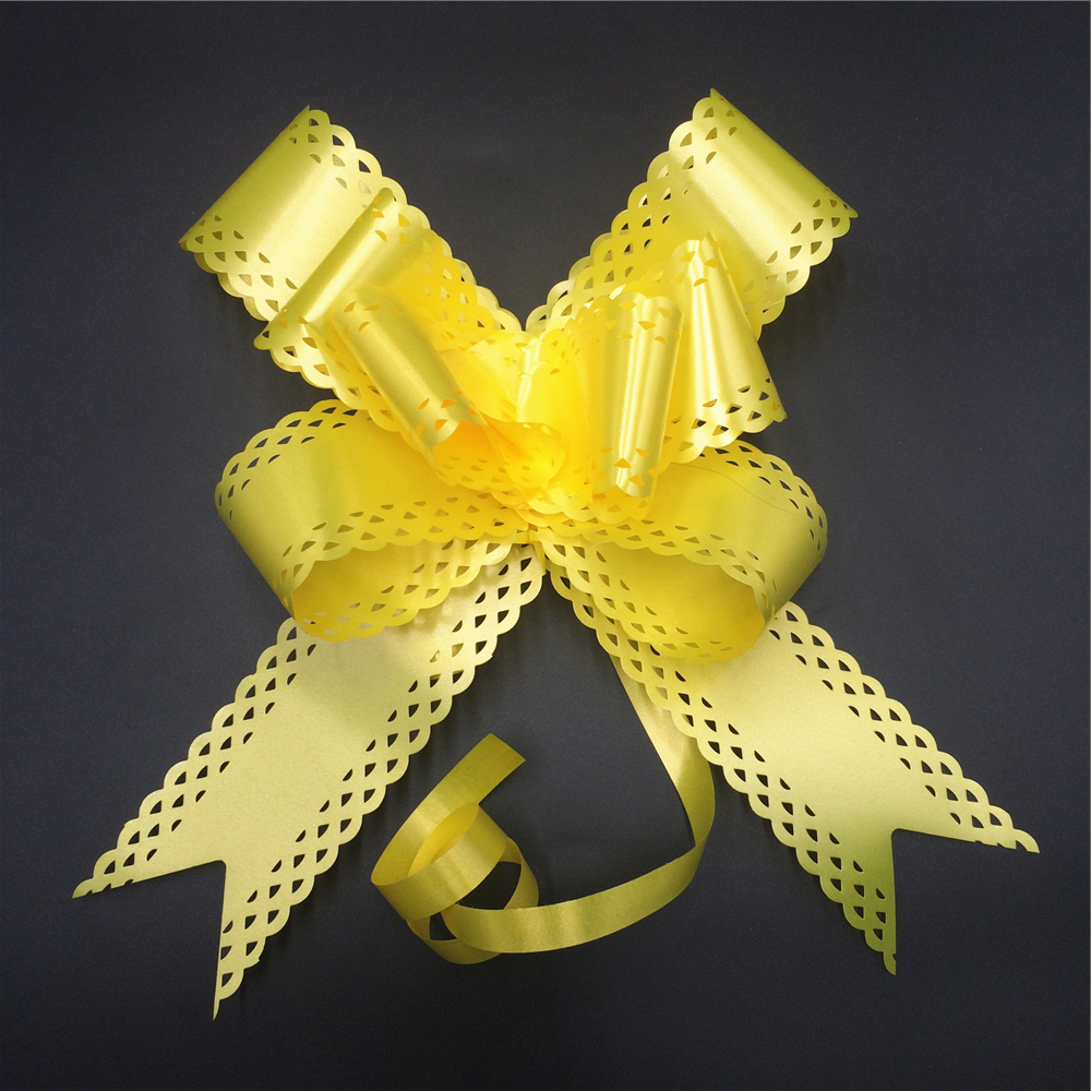Cheap sale twist tie gift butterfly pull bows for packaging