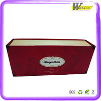 Nice Foldable Cardboard Recyclable Material Custom Packaging Box For Chocolate/Ice Cream