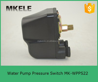 MK-WPPS22 China reliable performance 220v electronic pressure switches, mechanic jet pump switch, submersible water pump control