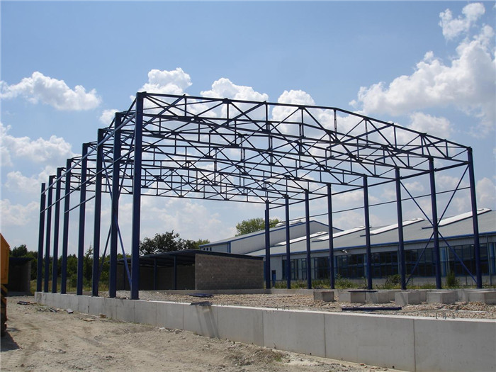 Fast Installation Galvanized Steel Roof Trusses for Sale