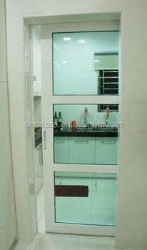Single Panel Interior Room Divider Tempered Gl Sliding Kitchen Doors