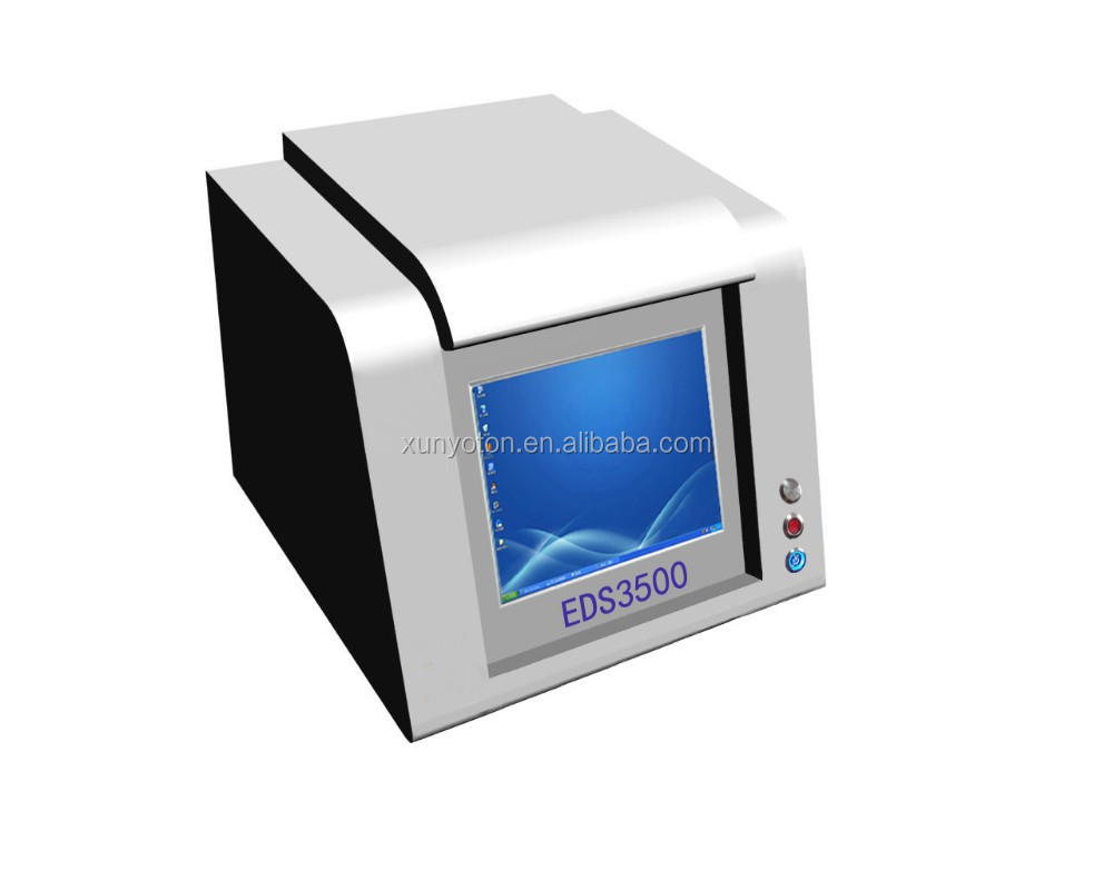 EDS3500 X-Ray Gold gold purity tester Usage karat
