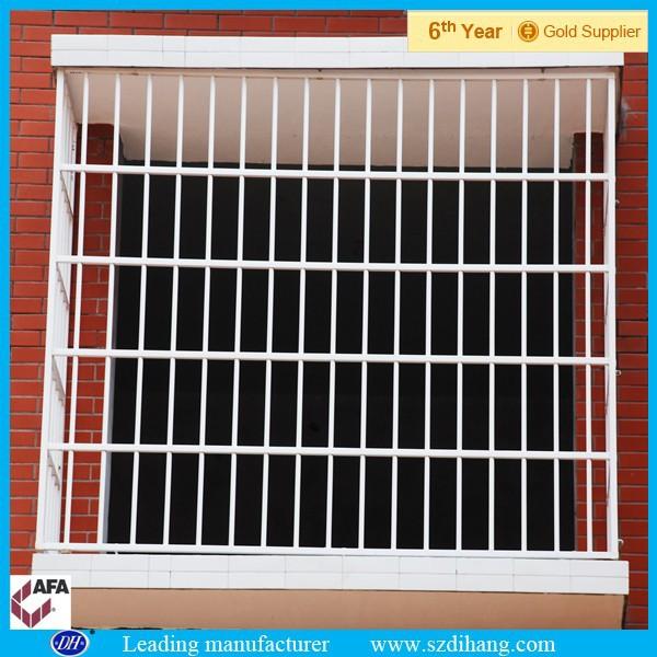نافذة الحديد المطاوع شواء، شواء نافذة التصميم الحديث-نوافذ