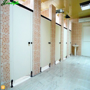 Decorative pvc panels public cheap toilet partition and door design