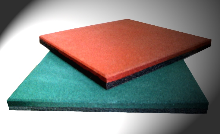 safety rubber tiles for play grounds