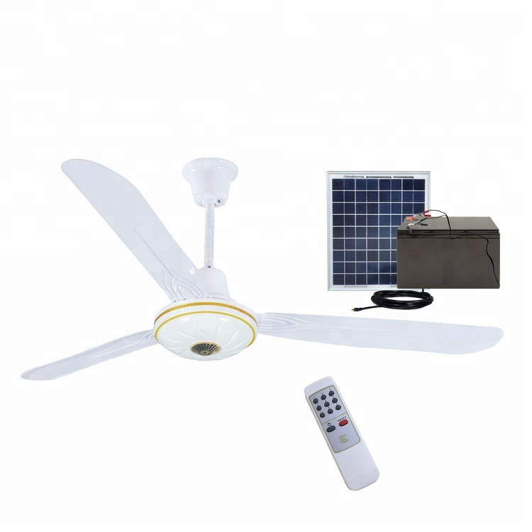 AC DC double use solar battery operated ceiling dc <strong>fan</strong> OEM
