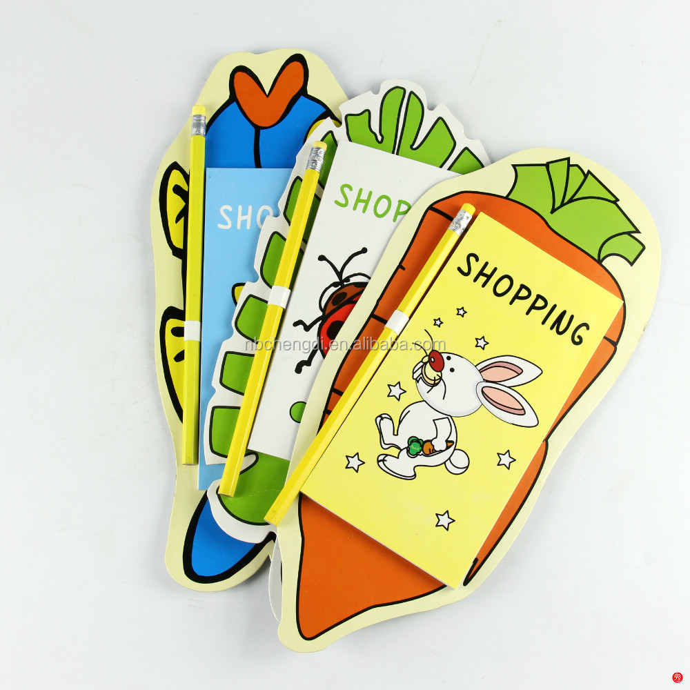 Supper cute magnet notepad with pen