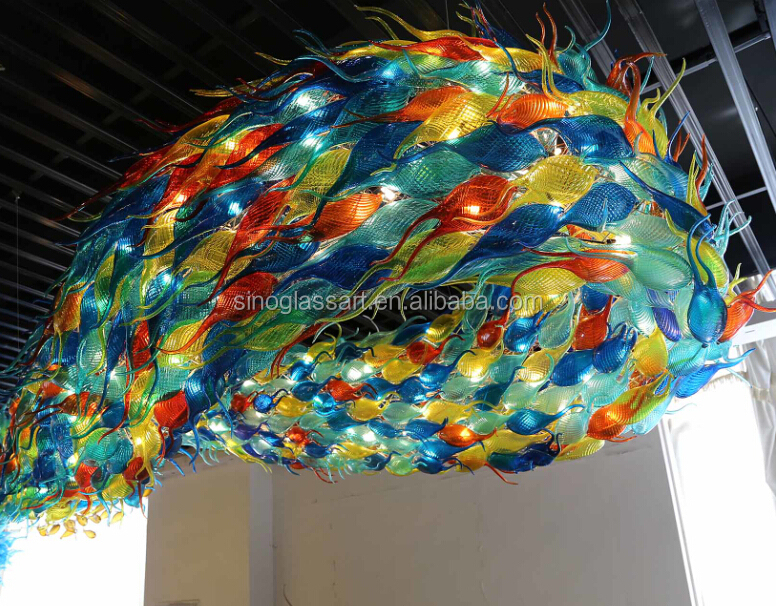 magnificent sporting glass fishes sculpture