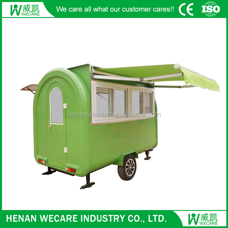 WECARE 280H solar mobile food cart Integral chassis strong body