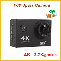 2016 New F60 sport dv 4K Mini extreme sports action video camera Full HD 30M Waterproof camera full hd 1080P Video Camera