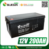 Bluesun deep cycle rechargeable sealed lead acid battery 6v 2ah 12v 200ah