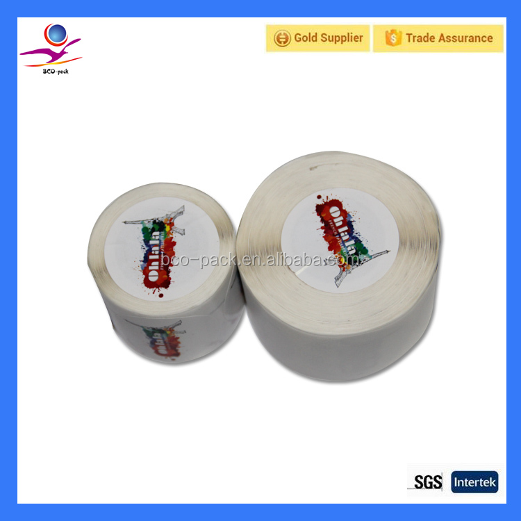 Printing lables garment tag print price label rolls