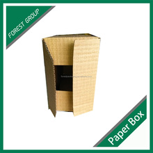 RECYCLED CARDBOARD FOLDING BROWN KRAFT PAPER BOX MANUFACTURER