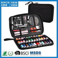 Useful Sewing Accessories Travel Sewing Set with Black Cloth Case