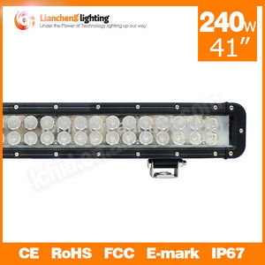"Wholesale!!! 41"" 240W 16000LM LED driving work light bar,off road 4x4 truck 4wd,Suv,atv handlebar lights"