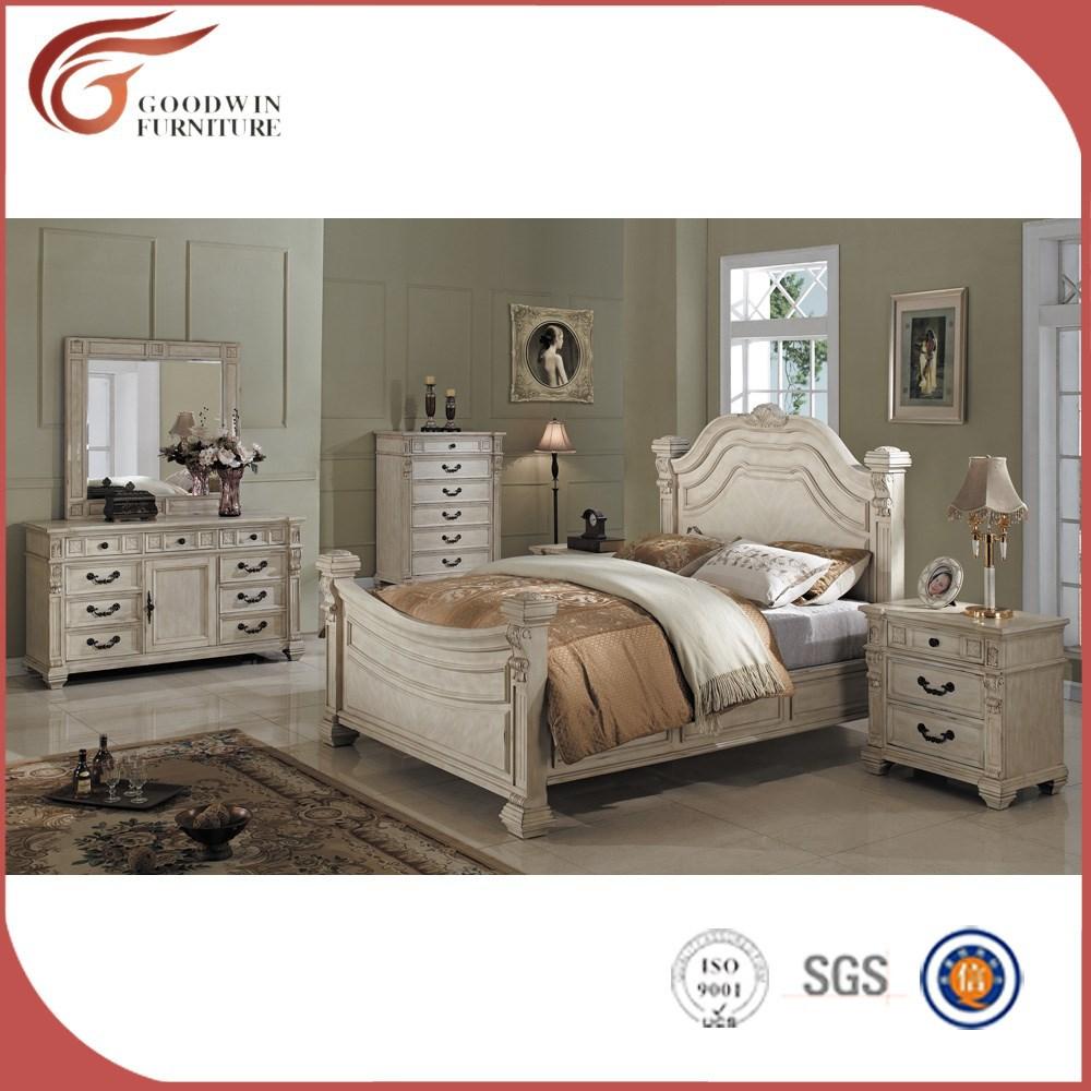 Dubai juegos de dormitorio, muebles de madera de pino, nuevo modelo ...