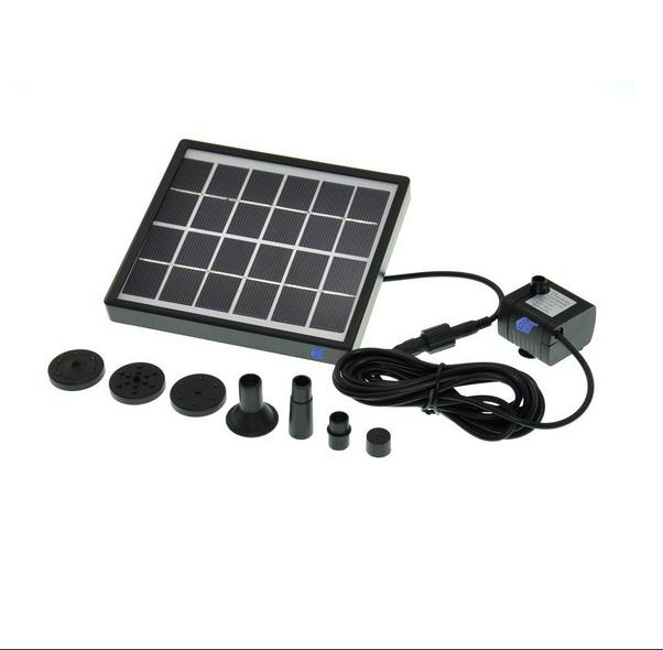 outdoor solar brunnen pumpe wasserfall f r pool gartenteich vogel bad dekorative tauch kit. Black Bedroom Furniture Sets. Home Design Ideas