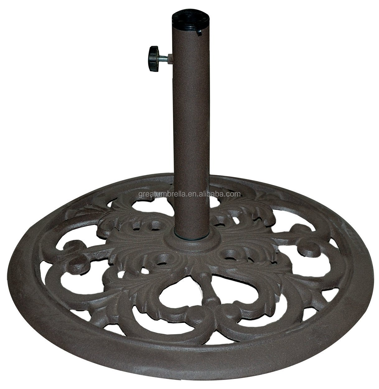 elegant garden outdoor market parasol umbrella base stand