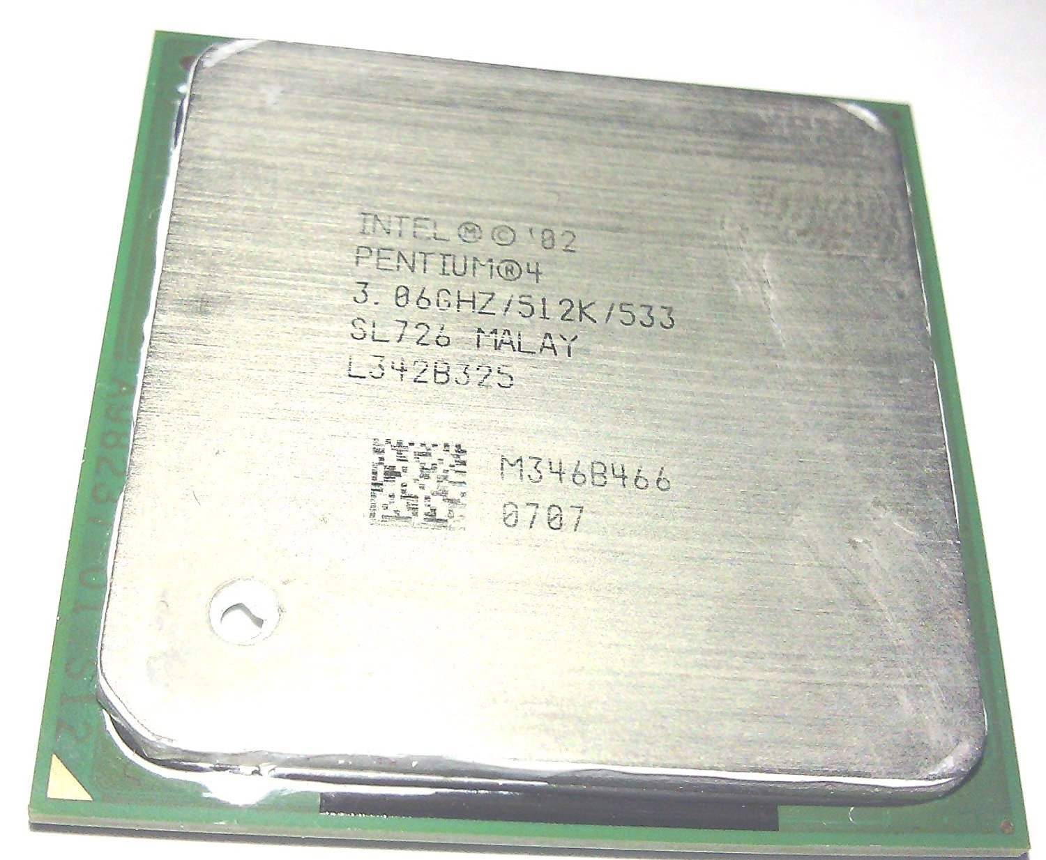 Cheap 478 Socket Pentium 4 Find Deals On Line Processor Intel Get Quotations M 306ghz Cpu With 512kb Cache 533mhz Fsb