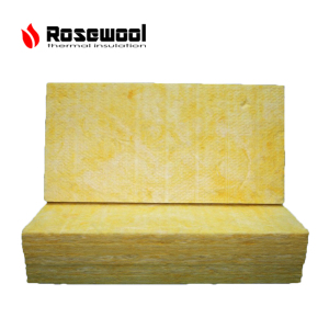 house outside wall covering fiber heat insulation 25mm glass wool