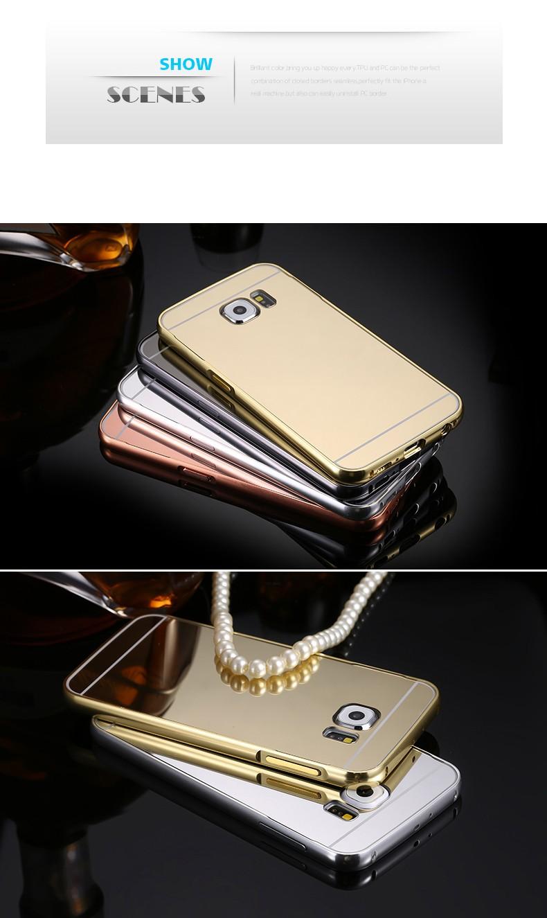 Luksusowe Etui Dla Samsung Galaxy S6 Metalowa Obudowa