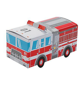 Fire Truck Treat Boxes