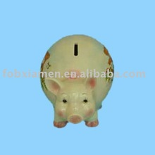 pottery piggy bank