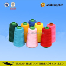 High quality price yarn spun polyester sewing thread