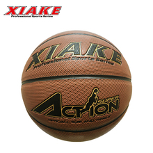 Colorful Custom Logo Offical Size 7 PU Street Rubber Basketball Ball