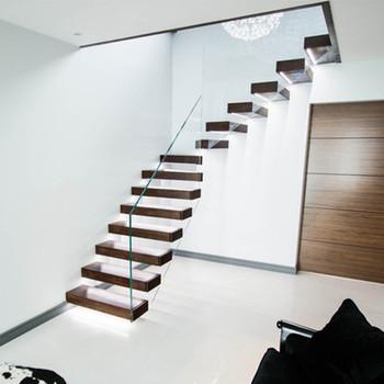 Genial Daiya Floating Stairs Construction Details Oak Wooden Tread   Buy Floating  Stairs Construction Details,Laminate Stair Treads,Modern Stair Treads ...