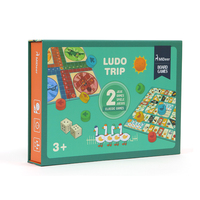 MiDeer MD1037 Ludo Trip Table Game Gift Box Wooden And Puzzle Max