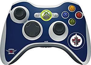 NHL Winnipeg Jets Xbox 360 Wireless Controller Skin - Winnipeg Jets Logo Vinyl Decal Skin For Your Xbox 360 Wireless Controller
