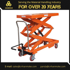 Customized Hand Hydraulic Lift Table Dolly