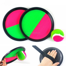 velcro catch ball game set for sport