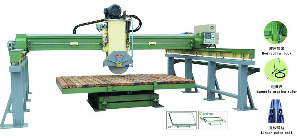 גשר אוטומטי סוג גדול לוחות שיש חיתוך מכונות