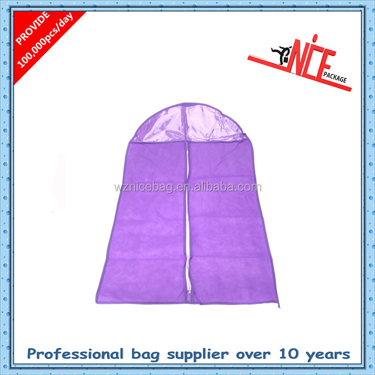 personalised suit bags purple pink suit cover garment bag
